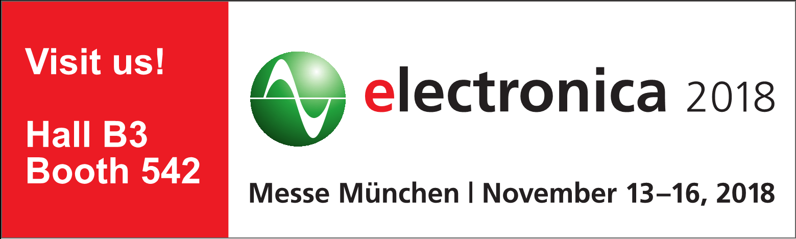 electronica 2018 / München November 13-16